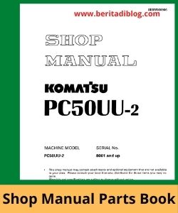 PC50UU-2 excavator komatsu