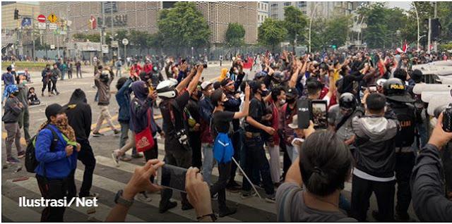 Ada Kelompok Yang Manfaatkan Demo Tolak Omnibus Law