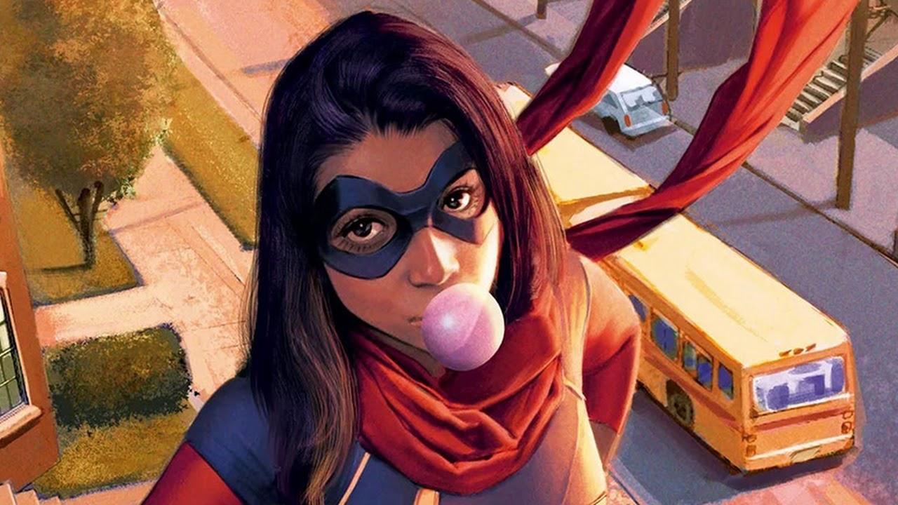 Iman Vellani será a 'Ms. Marvel' em nova série do Disney+!