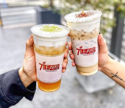 Feb 14 | BOGO FREE Drinks at ALL 7 Leaves Cafe Locations!