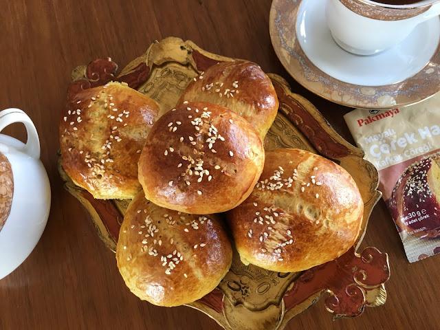 Çörek tarifleri, Kafkas çöreği , Kahvaltılık tarifler, Çay saati, Kolay tarifler