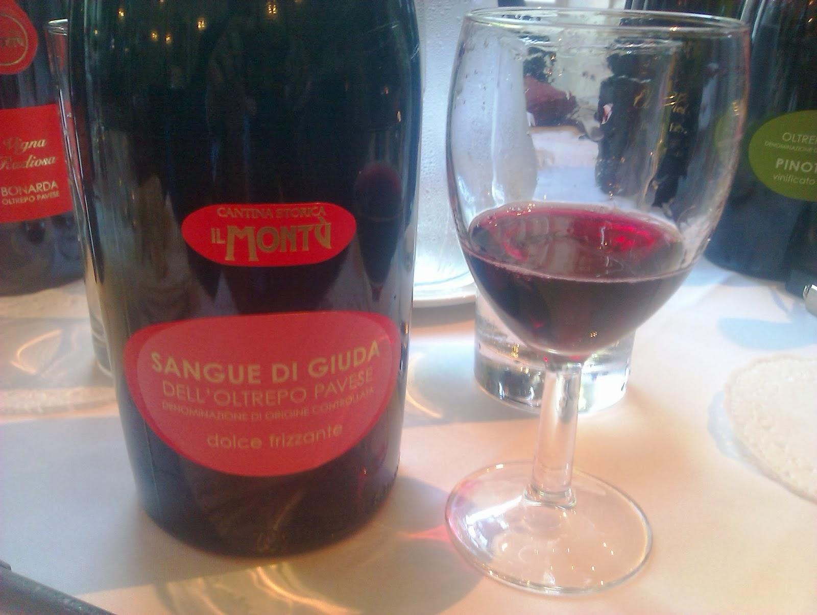 Wine Spice Sangue Di Giuda Or Blood Of Judas