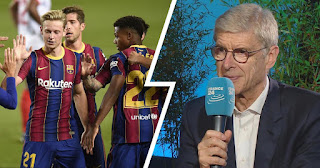 Arsene Wenger analysis Barcelona and Real Madrid chances in 2020/21 Champions League: Both Teams are weak