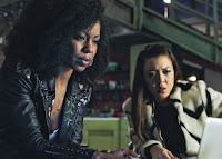 Danielle Mone Truitt and Angela Ko in Rebel BET Series (1)