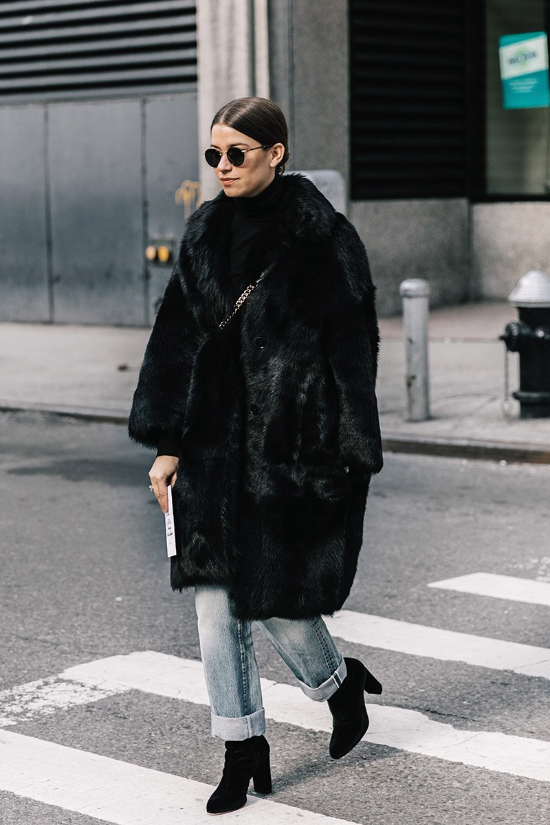 17 Best Black Faux Fur Coats for Winter Outfits