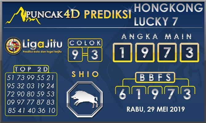 PREDIKSI TOGEL HONGKONG LUCKY7 PUNCAK4D 29 MEI 2019