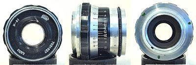 Industar-61 Silver Barrel 52mm F2.8 (M39-mount) #627