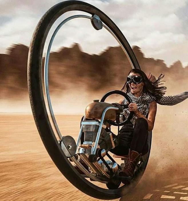 Monowheel Pilot