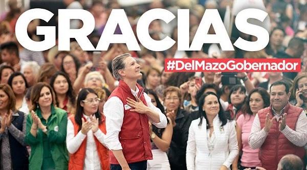 Todos están invitados el 8 de agosto a la entrega de la constancia de Gobernador: Alfredo del Mazo