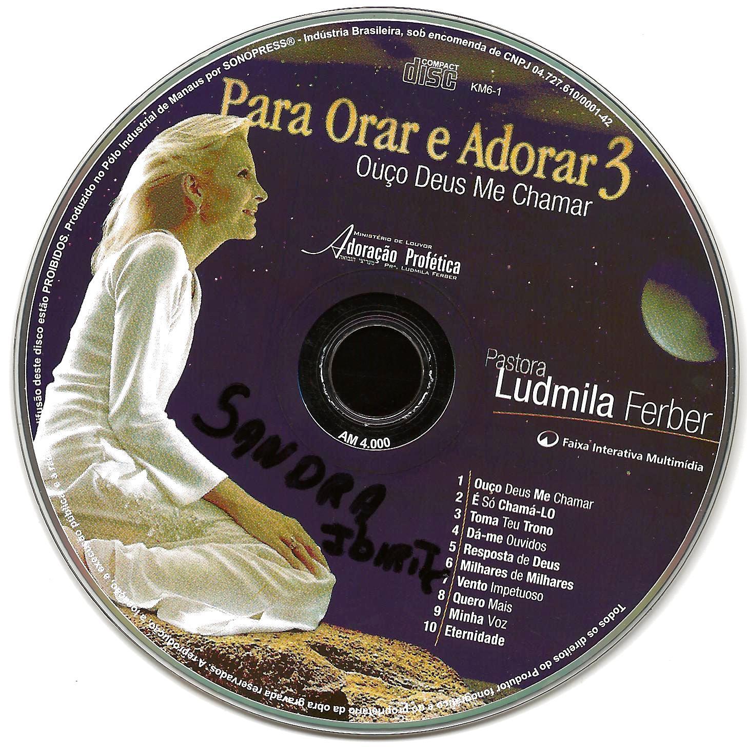 PLAYBACK 3 ADORAR BAIXAR ORAR LUDMILA PARA CD FERBER E