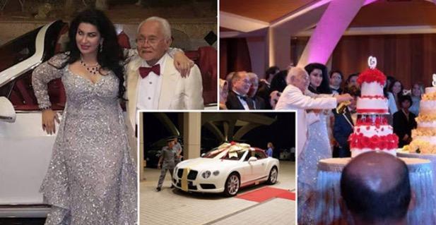 Taib Mahmud Hadiahkan Isteri Bentley Selepas 5 Tahun Berkahwin