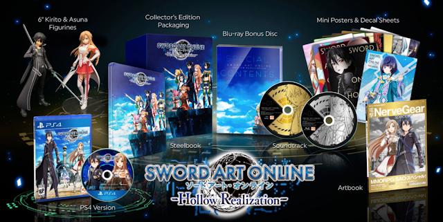 Anunciados tres complementos de Sword Art Online: Hollow Realization