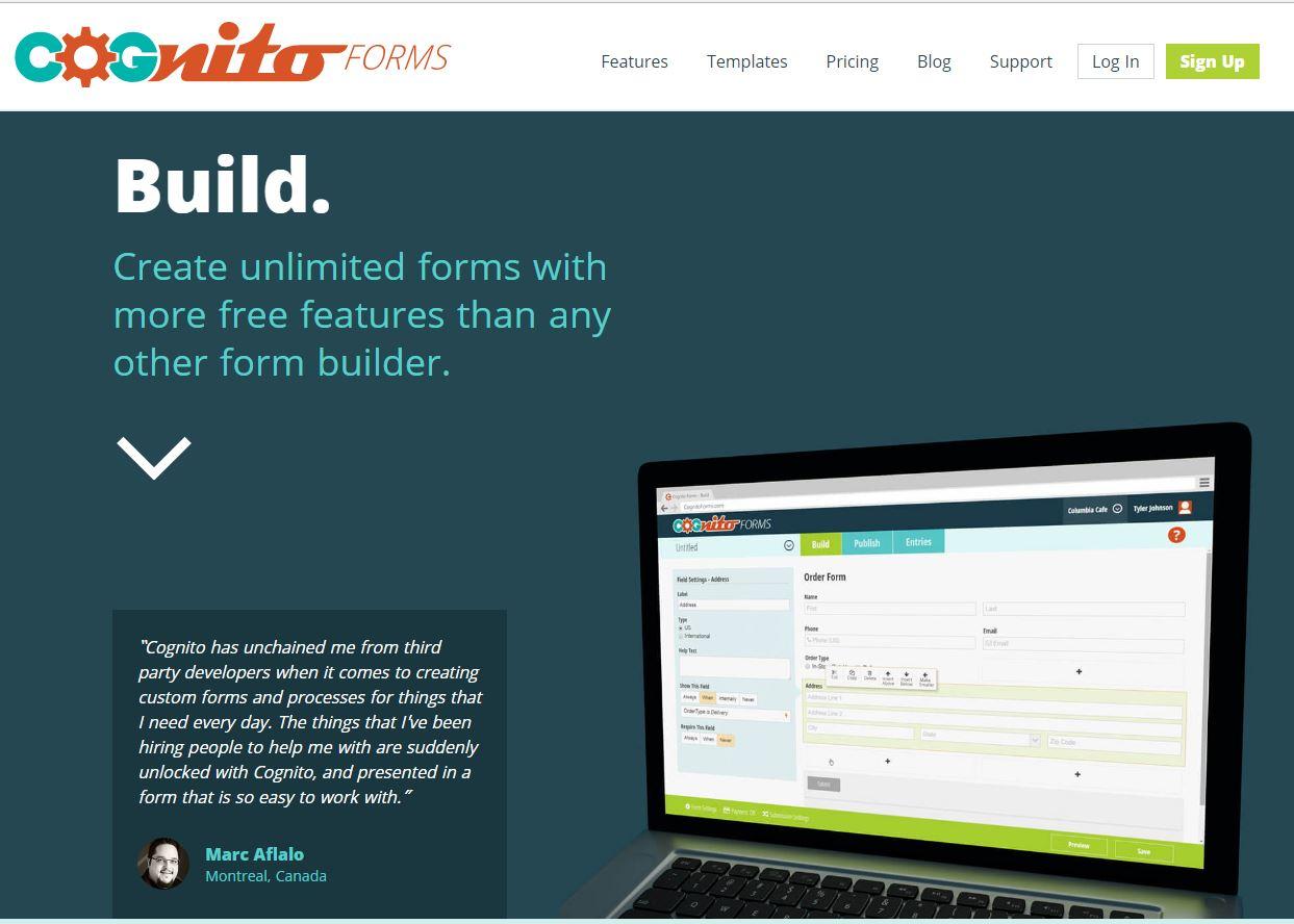 10 Situs Pembuat ContacForm HTML Online Gratis - Cyberbyte
