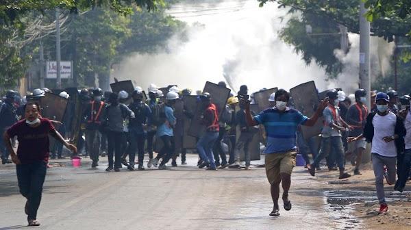 Korban Jiwa Terus Berjatuhan, 5 Demonstran Myanmar Tewas Ditembak