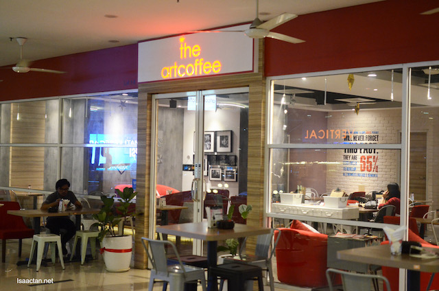 Restaurant front on the 1st floor of Nexus Bangsar South