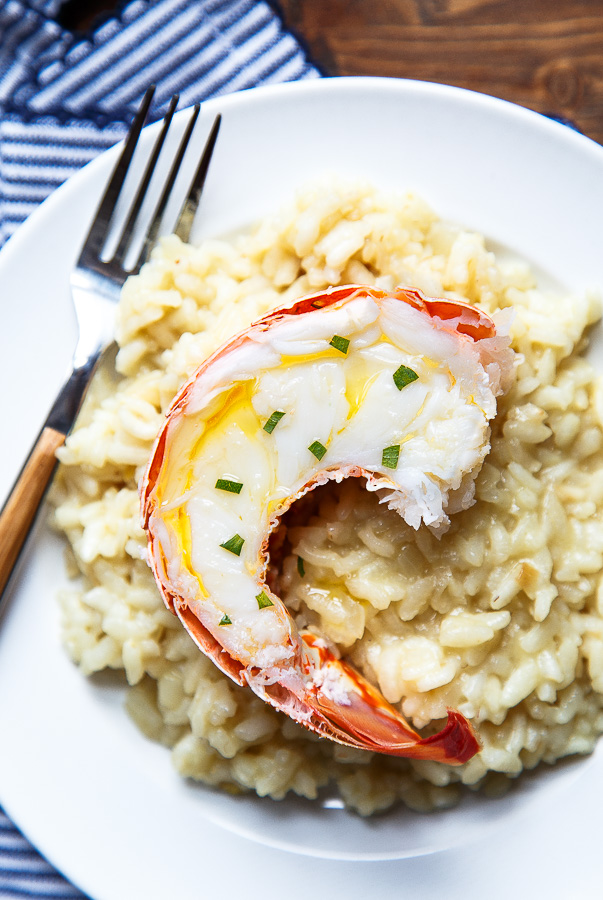 Simple Lobster Risotto Recipe