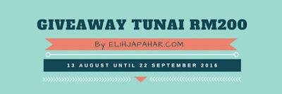 Giveaway Tunai RM200 By ELIHJAPAHAR.COM