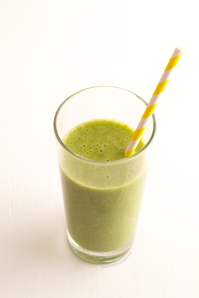 Green smoothie against cellulite - danceofstoves.com