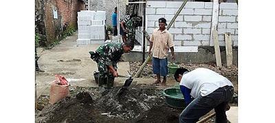 ''Seneng Lihat Padunya TNI Dan Rakyat''