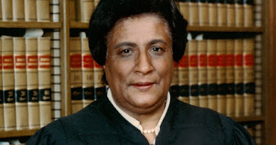 Constance Baker Motley, the first Black woman to become a federal judge in the U.S.