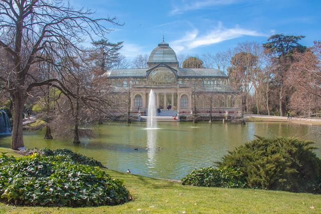 Palácio de Cristal, no Parque del Retiro, em Madrid