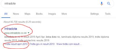 Intradote google