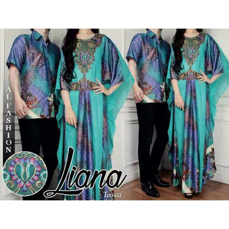 Jual Batik Gamis Couple Liana Tosca - 24226