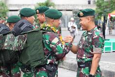 599 Prajurit TNI Tiba Di Makassar, Begini Pesan Pangdam XIV/HSN