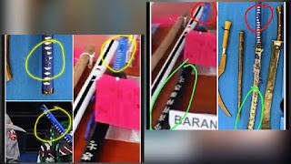 Netizen Baru Sadar, Senjata Barang Bukti Laskar FPl Ternyata Mirip Barbuk Kriminal Polres Ngawi