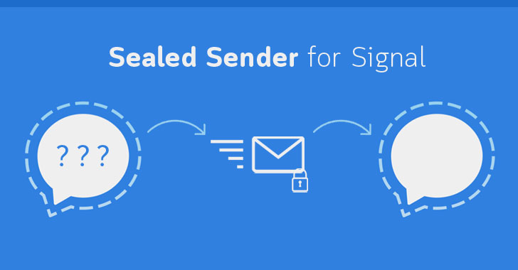 sealed sender signal metadata
