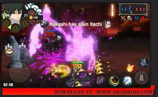 Download Naruto Senki TLF Special Sasuke Rinnegan Mod Apk