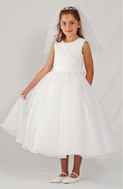 vestidos de primera comunion para gordas