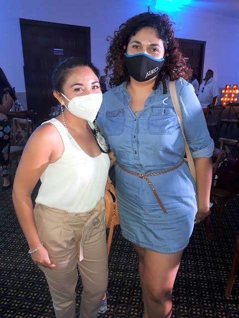 Ary Cardoso y Ana Muñoz.