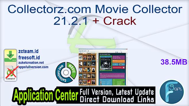Collectorz.com Movie Collector 21.2.1 + Crack_ ZcTeam.id