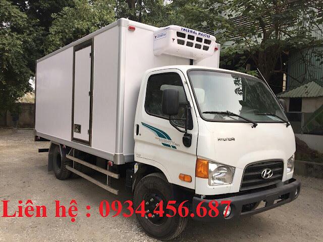Xe tải đông lạnh Hyundai 110sp