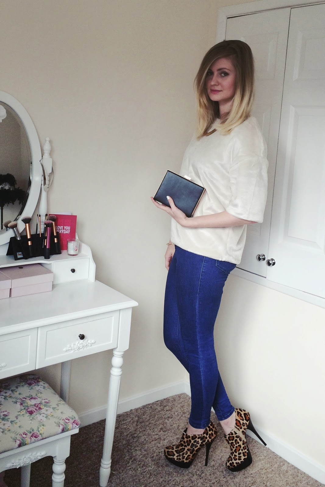 FashionFake, fashion bloggers, UK fashion blog, H&M Vogue furry top
