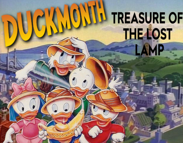 Retro Oasis Duckmonth Ducktales The Movie Treasure Of The
