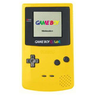 Nintendo Game Boy Color de color Amarillo, Nintendo clásico de los noventas