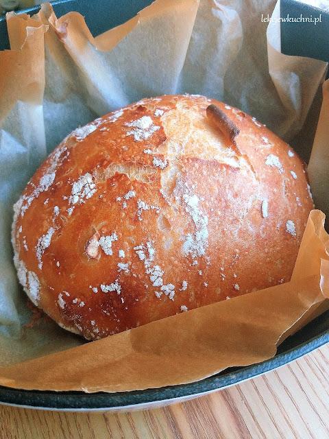 Włoski chleb z garnka bez zagniatania / No-Knead Italian Bread