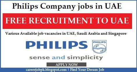Philips Company Job Opportunities 2016 UAE