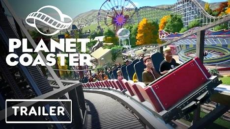 Planet Coaster Console Edition Trailer - X019