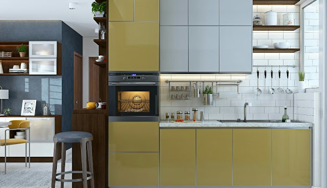 A Modern 2BHK House Design With Space Saving Furniture