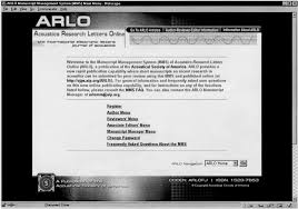 Acoustic Research Letters Online