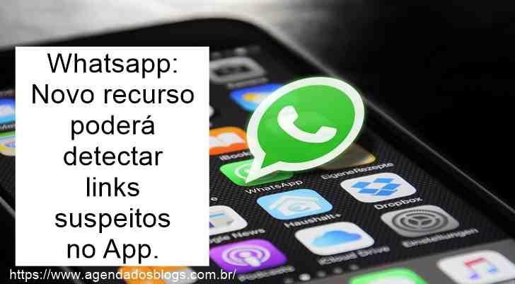 Whatsapp: Novo Recurso Poderá Detectar Links Suspeitos No App.