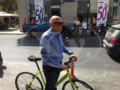 3a395647570 Δήμαρχος Χανίων: Κολωνάκια τώρα, ποδηλατόδρομος στο μέλλον, έλλειψη  αστυνόμευσης.