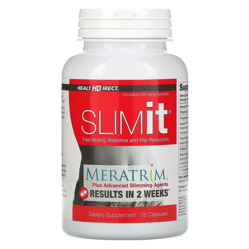 Health Direct, SLIMit, 56 Capsules