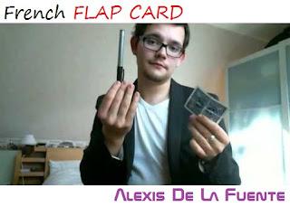 descargar dvd de magia gratis French Flap Card 2016 by Alexis De la Fuente