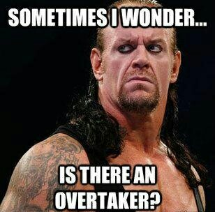 Is there an overtaker