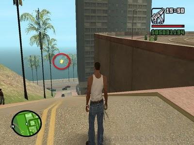 Lokasi Police Bribe di Los Santos Las Colinas (2)