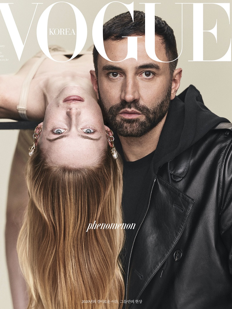Rianne van Rompaey lands three covers for Vogue Korea's February 2020 edition